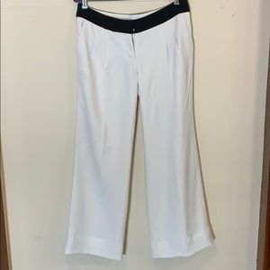 Fully lined winter white dress pants Express 8R